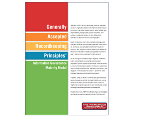 Generally Accepted Recordkeeping Principles
